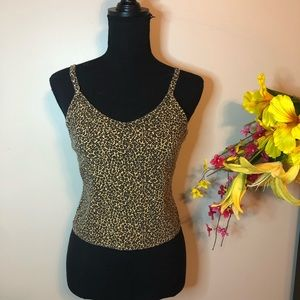 Darling Cheetah Print Tank Top